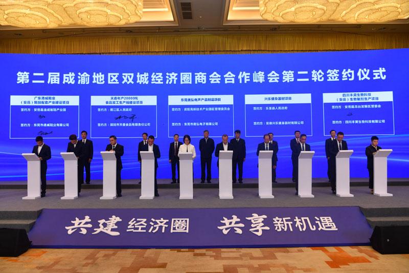 共话川渝商会组织合作发展 共促两地民营企业协作共赢